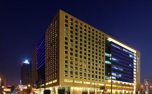 北京安福大厦夜景照明工程