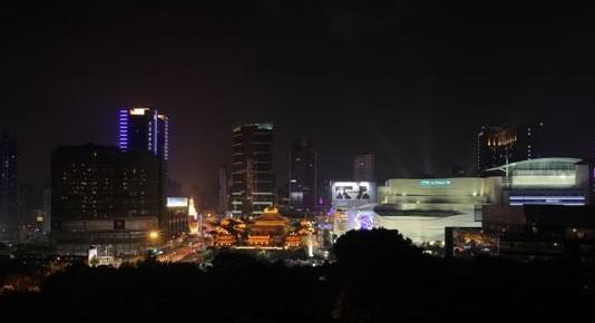 上海静安寺夜景照明改造工程
