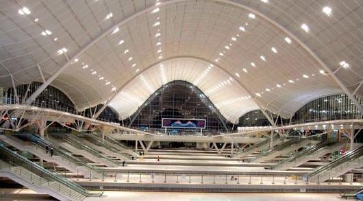 武汉新建火车站室内照明工程