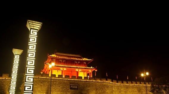 襄阳一江两岸夜景亮化工程设计