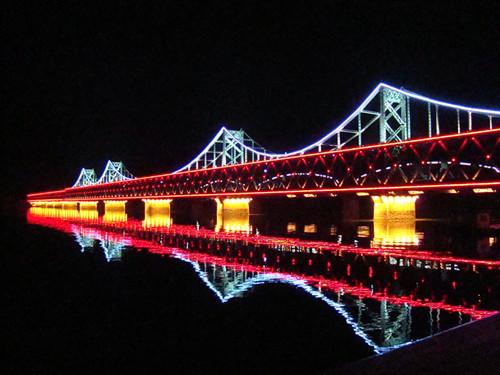 丹东鸭绿江大桥灯光亮化工程设计