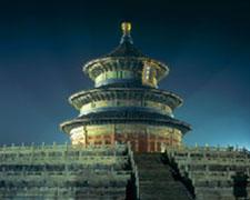 北京天坛夜景照明工程