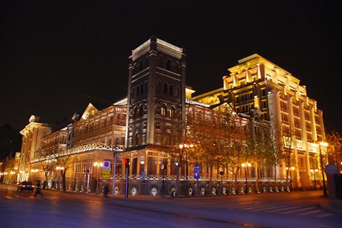 天津利顺德大饭店改造夜景照明工程