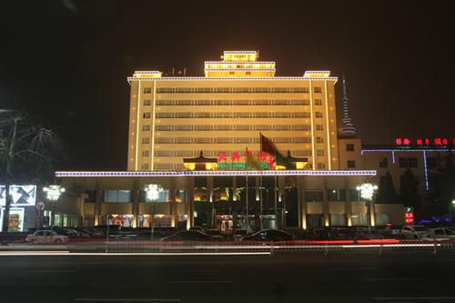 北京大兴宾馆夜景照明工程
