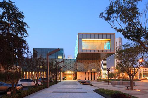 天津中粮体验中心照明设计