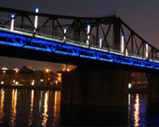 天津海河景观带夜景照明工程