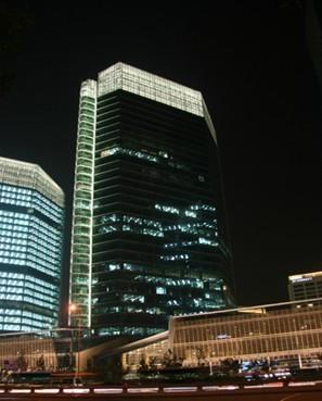 北京华贸中心夜景照明工程