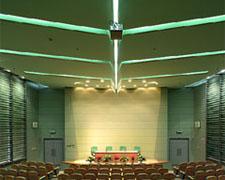 清华大学设计中心楼绿色报告厅室内照明工程