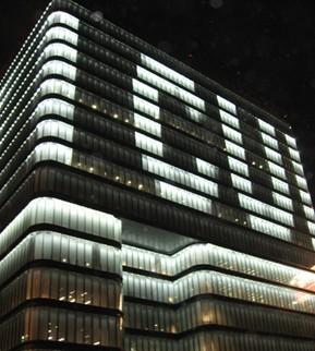 北京中关村文化商厦(第三极)夜景照明工程