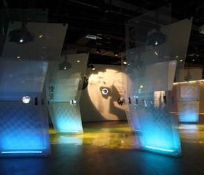 大连开发区基建规划展览馆室内照明工程