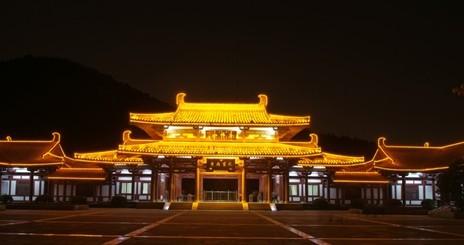 济南千佛山公园夜景照明工程