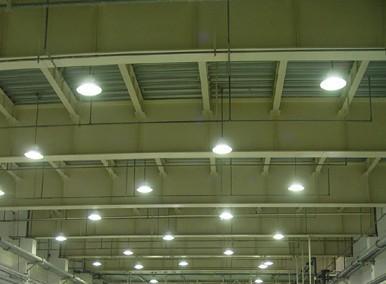 上海大众汽车有限公司技术中心试制车间节能照明改造工程