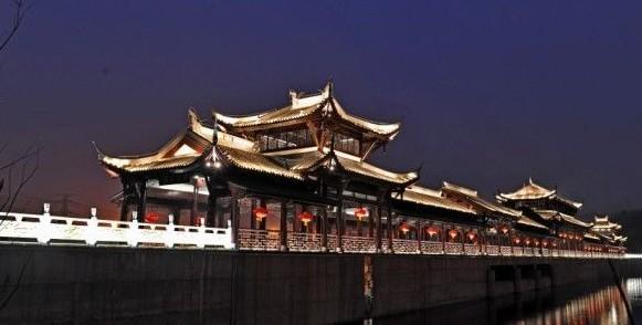 重庆园博园夜景照明工程