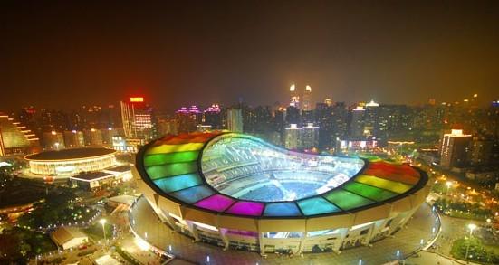 上海体育场夜景照明改造工程