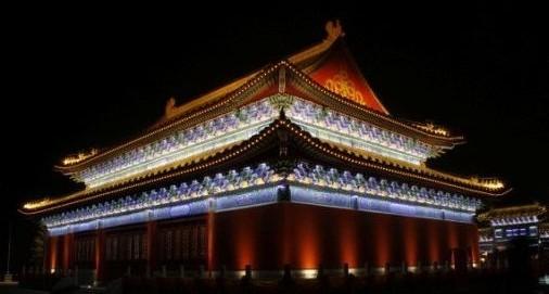 西安楼观台道教文化区夜景照明工程