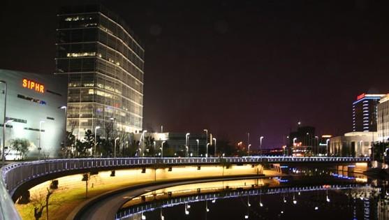 苏州工业园区行政中心夜景照明工程