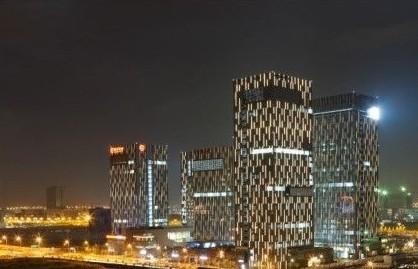 宁波国际金融服务中心夜景照明工程