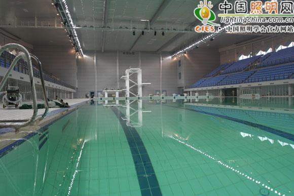 武汉体育中心体育场,体育馆,游泳馆场地照明工程