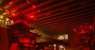 西安汉阳陵帝陵外藏坑A段保护展示厅室内特殊照明工程
