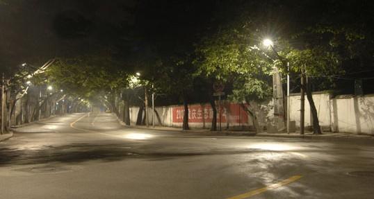 重庆中山四路道路照明节能改造工程