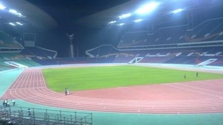 广东奥林匹克体育场场地照明工程