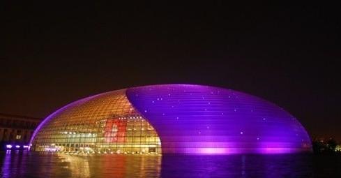 北京国家大剧院夜景照明工程
