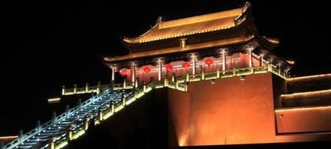 开封龙亭湖景区夜景照明工程