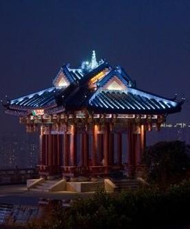 重庆鸿恩寺夜景照明工程