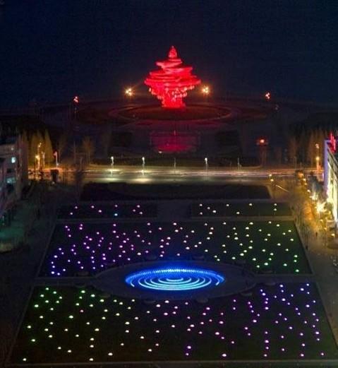 青岛五四广场夜景照明工程