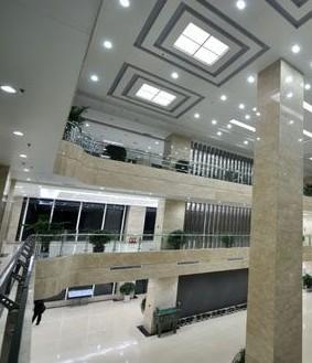 山西临汾供电公司生产调度大楼室内照明工程