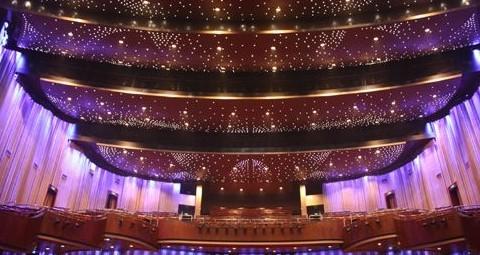江西省艺术中心歌剧院室内照明工程