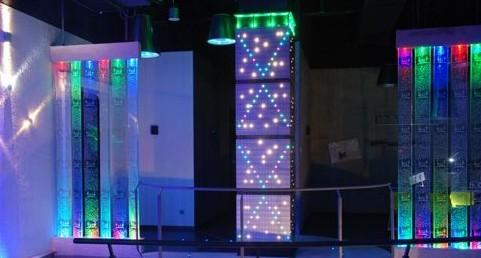 深圳中电公司LED照明场景式展示厅室内照明工程