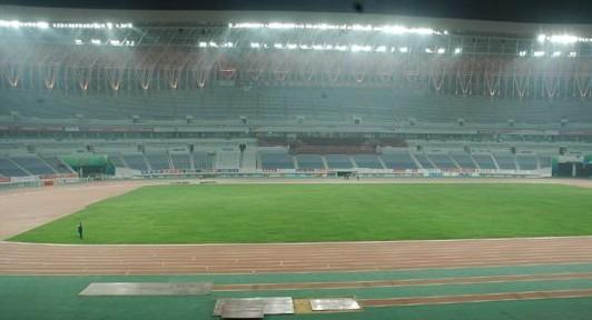 济南奥体中心体育场场地照明工程