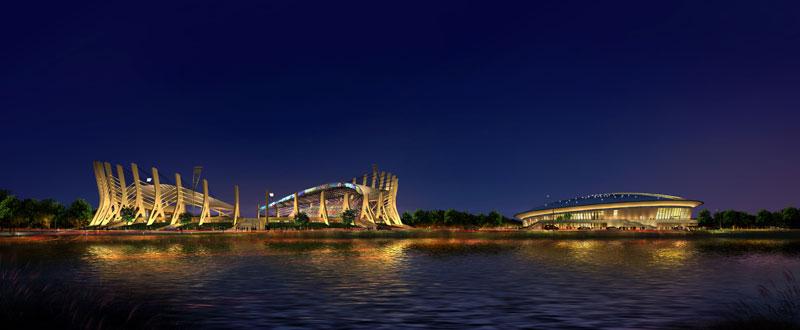 来往于市区桥上将会看到冒险岛水世界令人耳目一新的欧式建筑景观,这