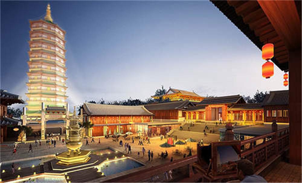 南京大报恩寺夜景照明工程