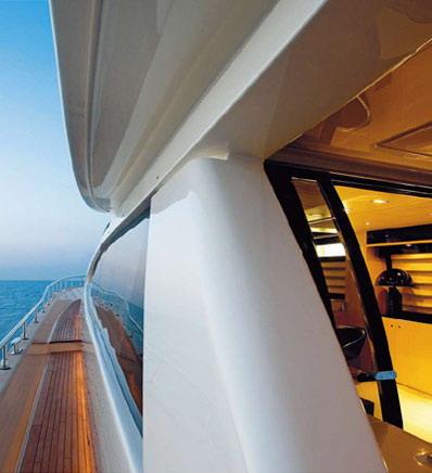 解构豪华游艇完美室内光源设计