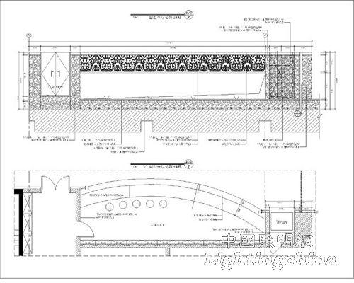 大厅立面图(2)
