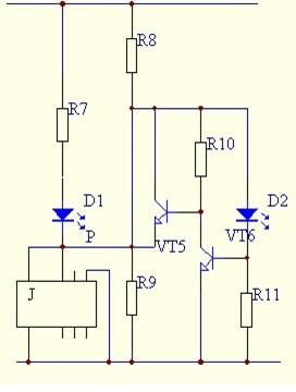 光控自动照明灯原理图