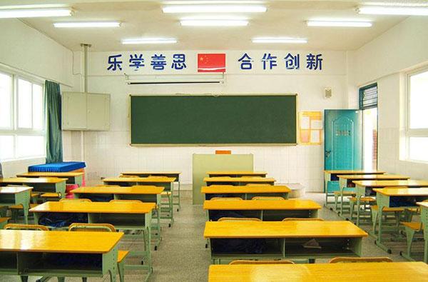 沙佳木学校运用led日光灯照明案例