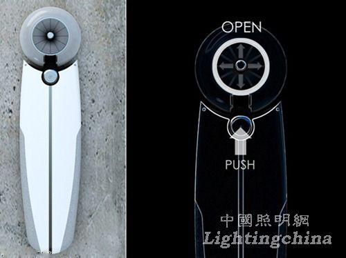 视觉系灯具光鸟太阳能LED灯