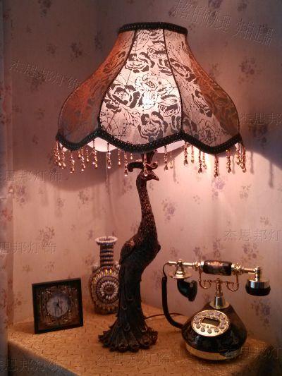 女欧式大台灯罩