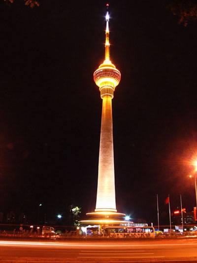 北京电视塔内景