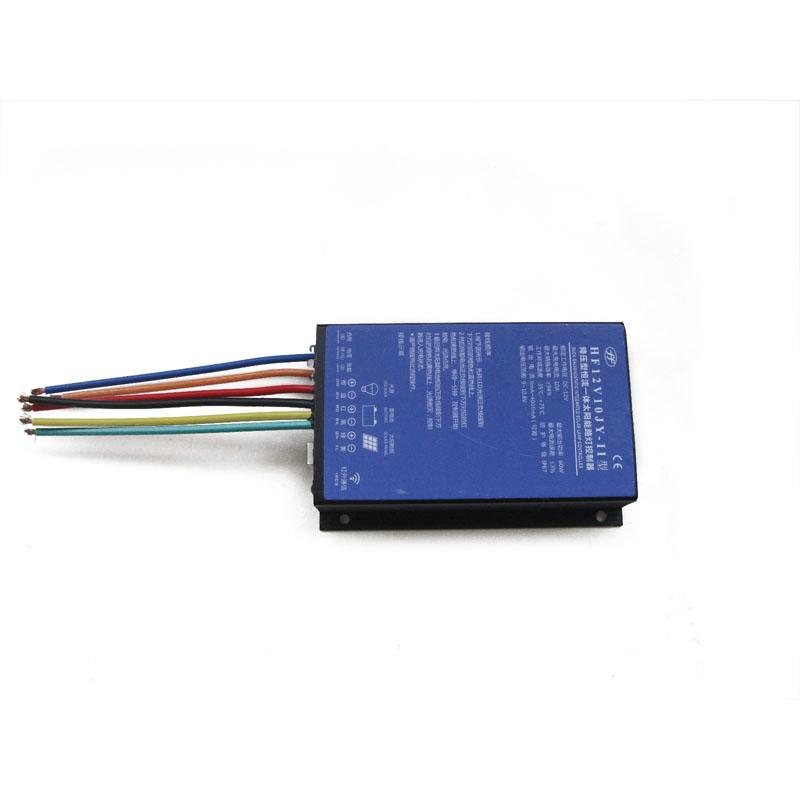 供应降压型恒流一体太阳能控制器 12v太阳能智能调光路灯控制器