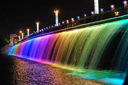 长春市夜景观照明工程设计案例