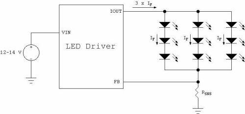 汽车LED照明应用的驱动解决方案分析