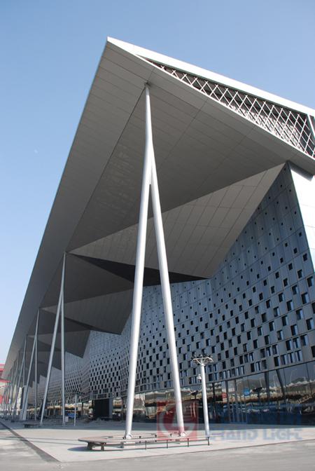 2010上海世博会主题馆建筑景观照明项目透视