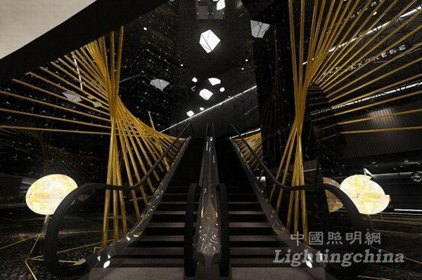 成都国际金融中心电影院照明设计