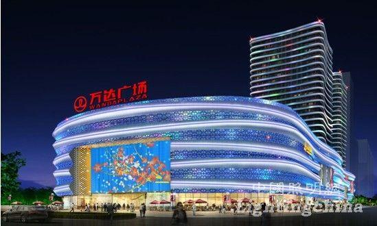 龙岩万达广场夜景照明设计之客家灵秀 四海流芳