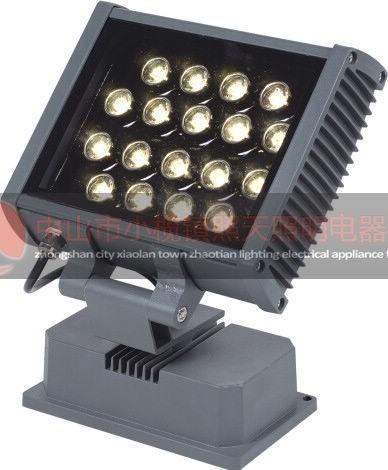 led为光源,由三基色组成混颜色变化的投射照明灯具,智能控制器达到