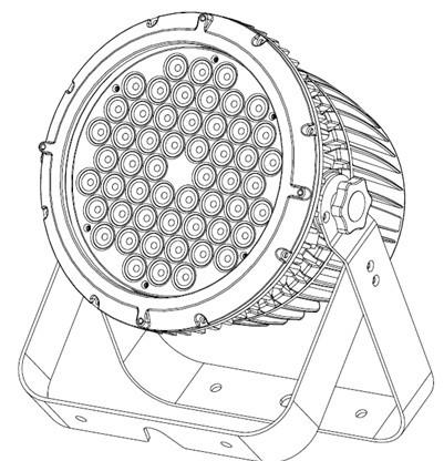 供应LED户外防水帕灯
